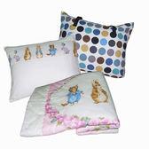 【1929居家生活館】彼得兔154絲毯+方形童枕旅行組