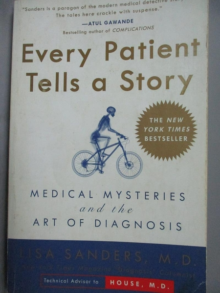 【書寶二手書T7/科學_LJL】Every Patient Tells a Story_Sanders, Lisa