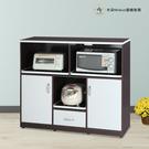【米朵Miduo】4.2尺兩門一抽三拉盤塑鋼電器櫃 塑鋼櫥櫃(附插座)