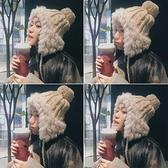 雷鋒帽毛線帽韓版護耳保暖秋冬季帽子【少女顏究院】