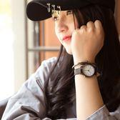 正韓復古皮質帶防水簡約學生手錶時尚潮流石英男錶女錶情侶一對錶台秋節88折