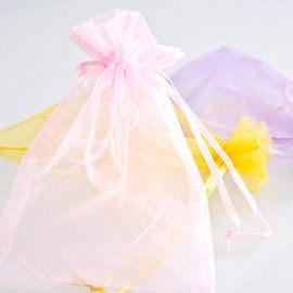 婚禮小物 雪紗袋(13*18cm) - 喜糖袋/禮物包裝 幸福朵朵