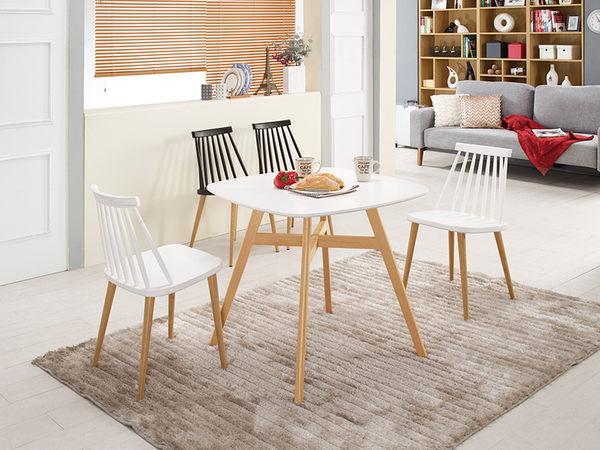 【森可家居】艾美造型椅(白)(五金腳) 7CM522-3 休閒椅 餐椅 商業椅