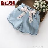 女童牛仔短褲夏裝外穿百搭2020新款洋氣夏季薄款寶寶中大兒童褲子 米娜小鋪