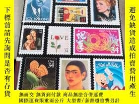 二手書博民逛書店The罕見2001 Commemorative Stamp Ye
