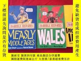 二手書博民逛書店Horrible罕見Histories: Measly Middle Ages 、WALES、INCREDIBLE