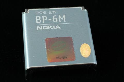 NOKIA 原廠電池 BP-6M 3250/3151/6233/6280/6288/9300/N73/N77/N93