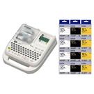 【任選12入市價399元標籤帶 加送一入】EPSON LW-500 可攜式輕巧型標籤機