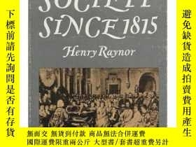 二手書博民逛書店Music罕見In Society Since 1815Y256260 Henry Raynor Barrie