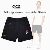 Nike 短褲 Sportswear Essentials+ Shorts 黑 彩 男款 穿搭 運動褲 可調式抽繩 及膝長度【ACS】DD4683-010