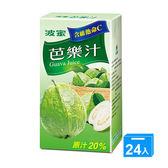 波蜜芭樂汁300ml x 24【愛買】