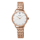 SEIKO 精工 手錶專賣店 SUR698P1  經典氣質女錶  不鏽鋼錶帶  施華洛世奇  日常防水50米