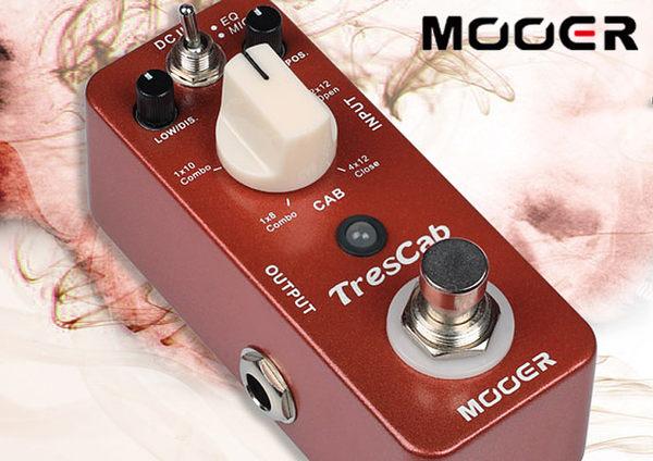 小叮噹的店- MOOER Tres Cab 數字 箱體模擬 單塊 效果器(MREG-TC)