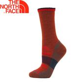 【The North Face 美國 羊毛保暖襪(輕量支撐)《橙/藏青》】3CNP/彈性避震/吸濕排汗★滿額送
