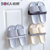 拖鞋架免打孔浴室拖鞋架衛生間置物架宿舍鞋子收納神器墻壁掛小鞋架鞋托