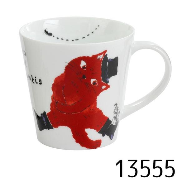 【日本製】Marlo與小夥伴系列 白磁馬克杯  Marlo與螞蟻(一組:48個) SD-6425-48 - 日本製