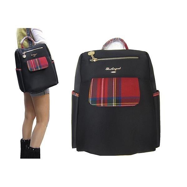 【南紡購物中心】~雪黛屋~Crown-Bear 後背包中小容量母子包進口防水防水尼龍布材質