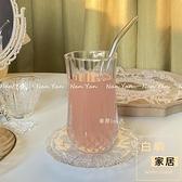 冰美式咖啡杯冰拿鐵玻璃杯加厚古典雞尾酒杯子【白嶼家居】