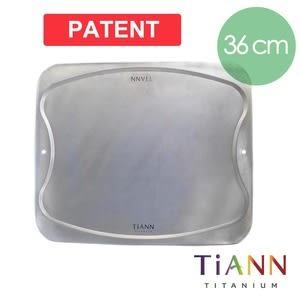鈦安純鈦餐具TiANN 新款萬用鈦砧板/鈦砧盤