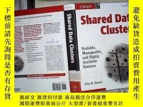 二手書博民逛書店SHARED罕見DATA CLUSTERS (01)Y18089
