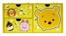 【震撼精品百貨】Winnie the Pooh 小熊維尼~Tsum Tsum維尼橫式三抽收納盒