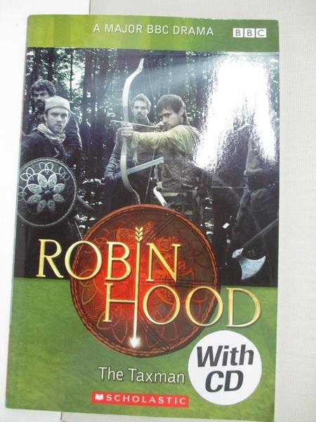 【書寶二手書T1/原文小說_IJ3】Robin Hood :The Taxman with CD_Scholastic ELT Readers