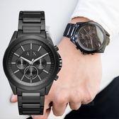 【人文行旅】A/X Armani Exchange   亞曼尼 AX2601 率性線條三眼腕錶