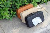 面紙盒汽車內飾用品車載車用紙巾盒 汽車創意遮陽板掛式天窗椅背抽紙盒     提拉米蘇