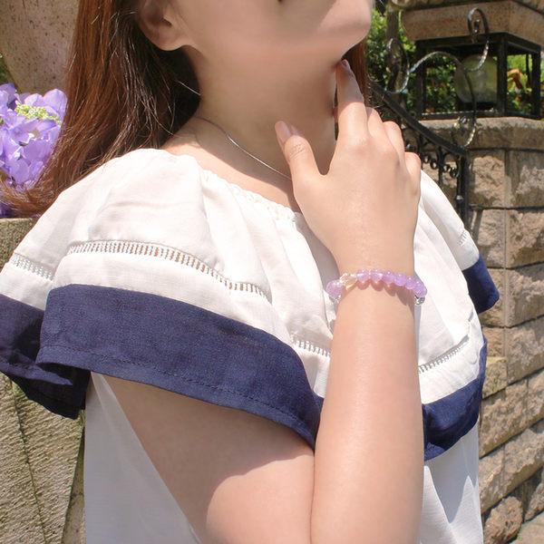 紫玉手鍊-設計師經典手創系列-神秘戀曲-石頭記