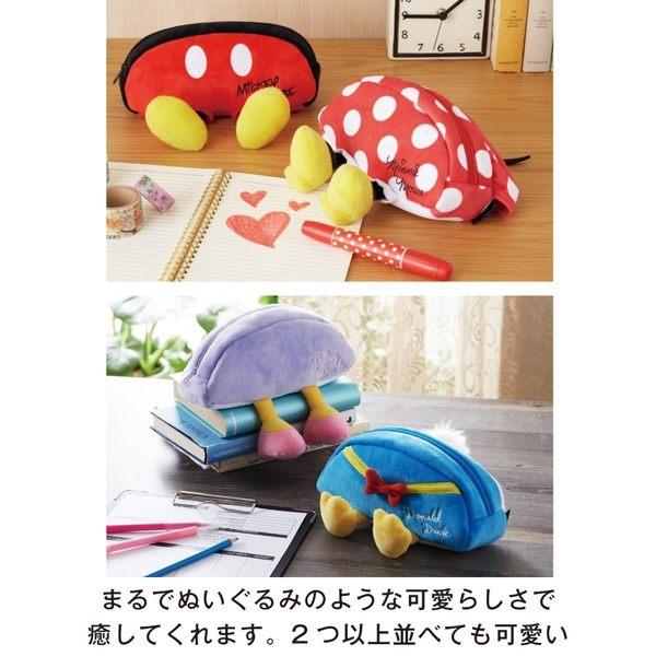 【京之物語】日本迪士尼人物造型化妝包 萬用包(米奇/米妮/唐老鴨/黛西/小熊維尼)-預購商品