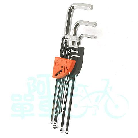 *阿亮單車*SuperB 好收納內六角扳手工具組(TB-TH30)球頭設計更易滑入螺絲頭凹槽《B37-TH30》