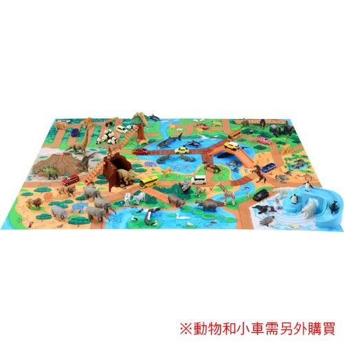 特價 TOMICA多美 多美動物樂園地圖豪華組