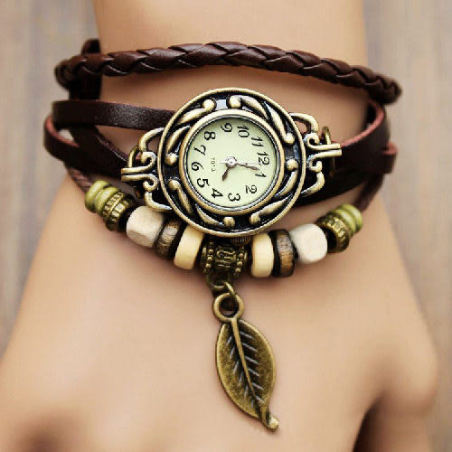 【DIFF】復古羅馬手錶手鍊  飾品 配件 手環 仿牛皮 果凍錶 中性錶 情侶錶 對錶 禮品 生日禮物