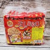 馬來西亞零食J.J.點心麵BBQ風味360g_18入【0216零食團購】9557226062851