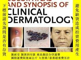 二手書博民逛書店Fitzpatricks罕見Color Atlas and Synopsis of Clinical Dermat