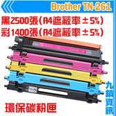 九鎮資訊 Brother TN-261 環保碳粉匣 3170CDW/9330CDW