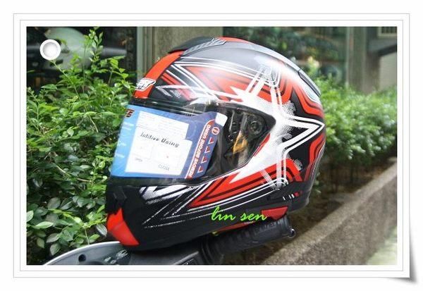 M2R安全帽,F5,#5消光黑/紅