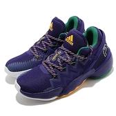 adidas 籃球鞋 D.O.N. Issue 2 GCA 紫 黃 男鞋 米邱 二代 運動鞋【ACS】 FW9037