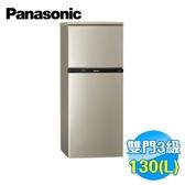 國際 Panasonic 130公升 雙門電冰箱 NR-B139T-R