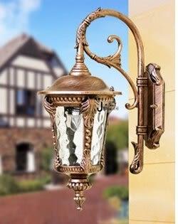 設計師美術精品館歐式壁燈 戶外花園庭院燈 門口圍牆防水燈 室外陽台走廊燈過道燈