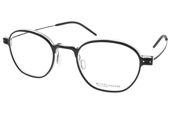 VYCOZ光學眼鏡 POSTER BLK (黑-霧黑) 韓系流線造型款 #設計師品牌