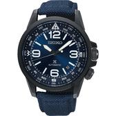 SEIKO精工 Prospex 空軍爭霸機械錶-藍/42mm 4R35-02N0B(SRPC31J1)