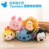 【日本迪士尼TsumTsum疊疊樂螢幕擦】Norns 跳跳虎 小豬 史迪奇 邦妮兔 高飛