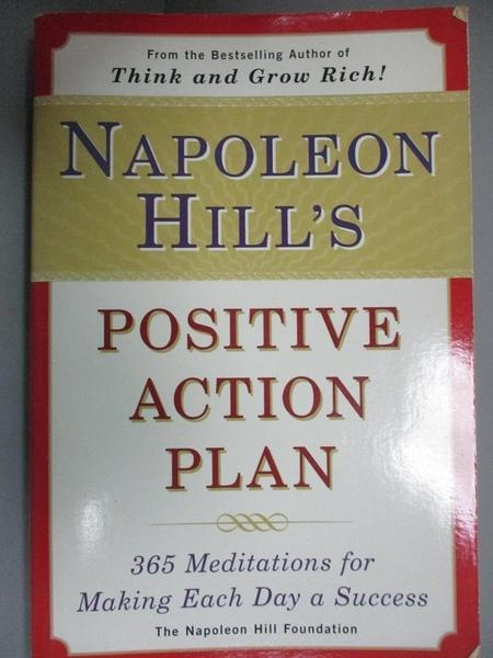 【書寶二手書T1/傳記_LRP】Napoleon Hill s Positive...: 365 Meditations for...