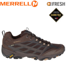 【MERRELL 美國 男款 MOAB FST GORE-TEX 棕色】ML36983/越野鞋/休閒鞋/登山鞋/運動鞋/健行★滿額送
