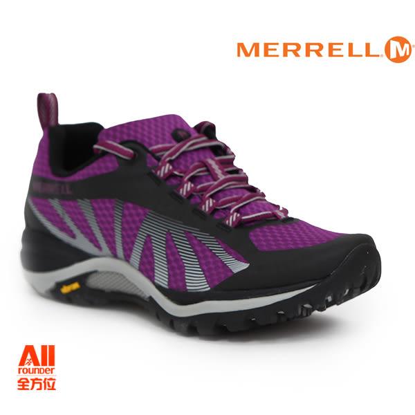 【Merrell】女款戶外鞋 SIREN EDGE 多功能系列 - 紫紅色(598224)【全方位運動戶外館】