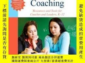 二手書博民逛書店Mathematics罕見Coaching: Resources And Tools For Coaches An