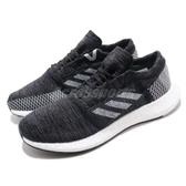 adidas 慢跑鞋 PureBOOST GO 黑 灰 編織鞋面 街頭路跑 男鞋 運動鞋【PUMP306】 B37803
