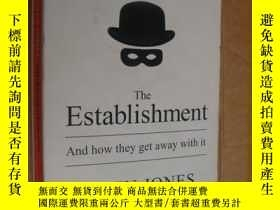 二手書博民逛書店The罕見Establishment and how they