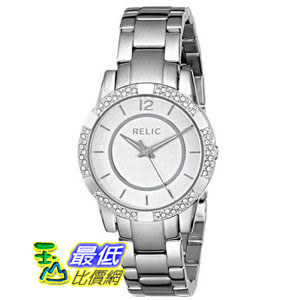 [美國直購] Relic 手錶 by Fossil ZR34201-040 Payton Glitz Silver Tone Stainless Steel Womens Watch $2855